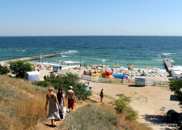 One of Odessa's many beaches